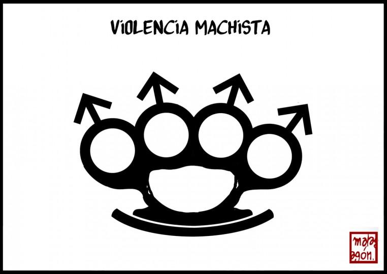 """Imaxe de Malagón """"Violencia Machista"""""""
