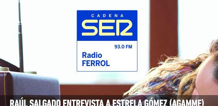 """Audio da entrevista en Cadena Ser Ferrol sobre o acto desta tarde """"Xuntanza informativa sobre o coordinador parental e o SAFIM"""""""